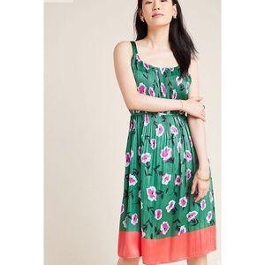 ✨ANTHROPOLOGIE Mireille Pleated Dress